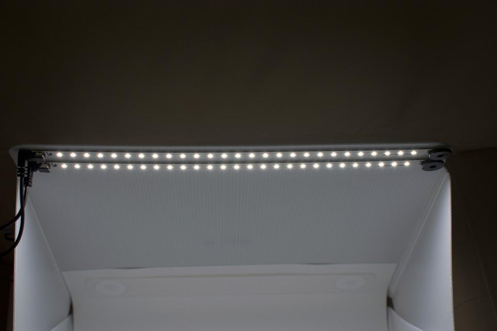 Foldio 2 - LED osvětlení (2× 27 diod)